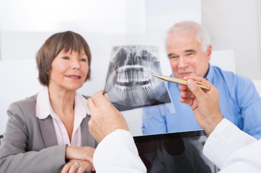 Zahnarztangst - Röngtenbild Gebiss