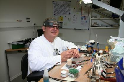 Markus Behr, Laborleiter, seit über 15 Jahren im Betrieb